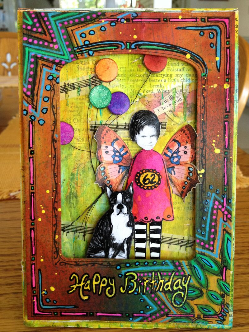 Chris's Birthday Card