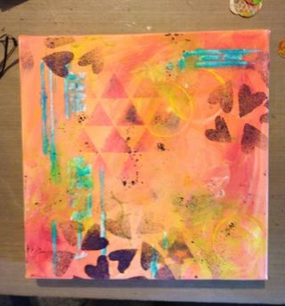 Out of the Journal challenge canvas start