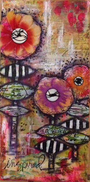 Gut Art - Flower Painting